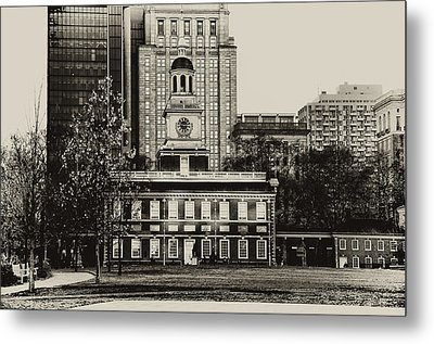 Independence Hall Metal Print by Bill Cannon