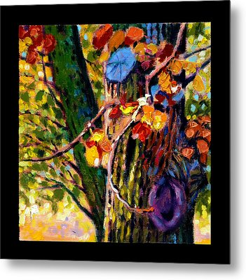 Indian Summer Detail Eight Metal Print by John Lautermilch