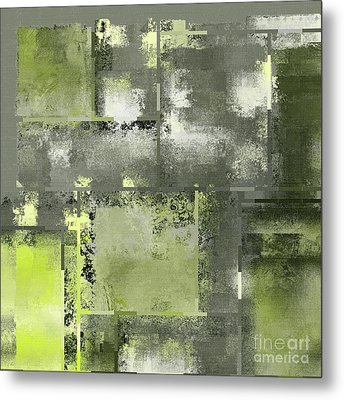 Industrial Abstract - 11t Metal Print by Variance Collections