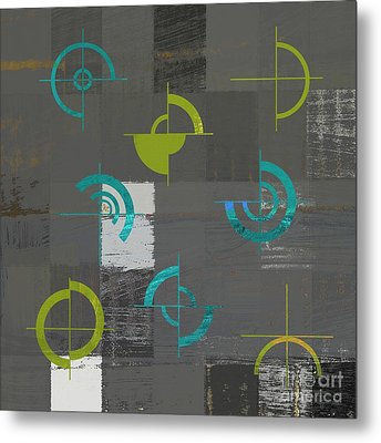 Industrial Design - S02j088129164a Metal Print by Variance Collections