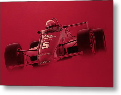Indy Racing Metal Print by Jeff Mueller
