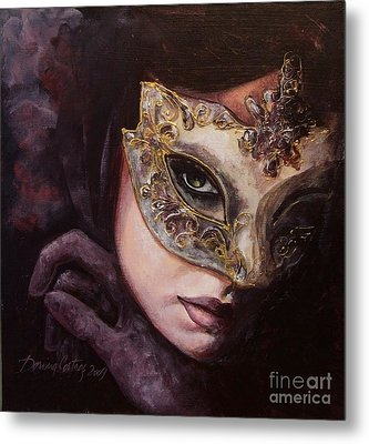 Ingredient Of Mystery  Metal Print by Dorina  Costras