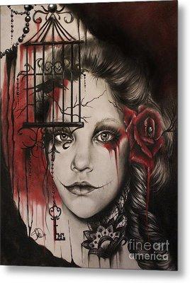 Inner Demons  Metal Print by Sheena Pike