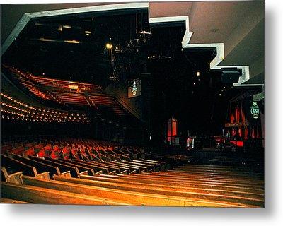 Inside Grand Ole Opry Nashville Metal Print by Susanne Van Hulst