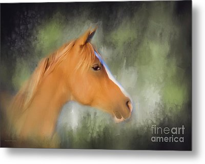 Inspiration - Horse Art By Michelle Wrighton Metal Print by Michelle Wrighton