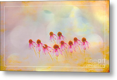 Inspiration Of Spring Metal Print by Beverly Guilliams