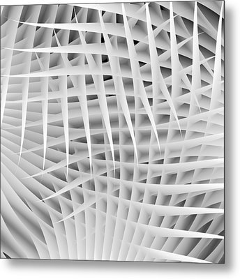 Interface Metal Print by Angelina Vick