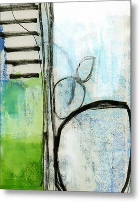 Intersections #35 Metal Print by Linda Woods