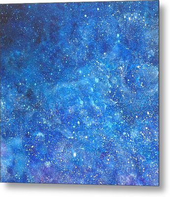Into The Deep # 1 Metal Print by Adrienne Martino