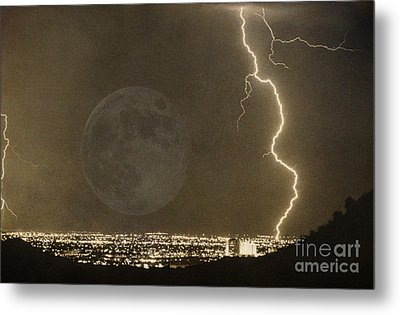 Into The Night Metal Print by James BO  Insogna