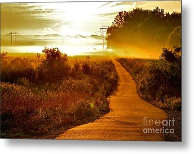 Into The Unknown Metal Print by Robert Pearson