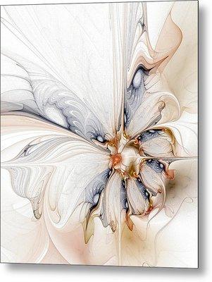 Iris Metal Print by Amanda Moore