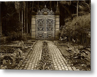 Iron Gate Metal Print by Amarildo Correa