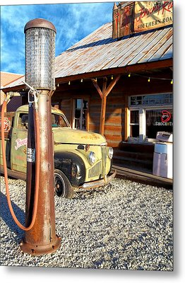 Is That You - Route 66 California Metal Print by Glenn McCarthy Art and Photography