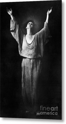 Isadora Duncan (1877-1927) Metal Print by Granger