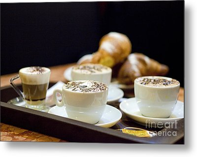 Italian Breakfast Metal Print by Andre Goncalves