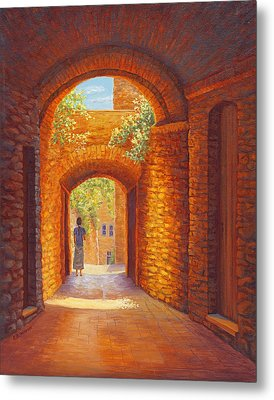 Italy Passages Metal Print by Elaine Farmer
