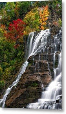 Ithaca Falls Metal Print by Mark Papke