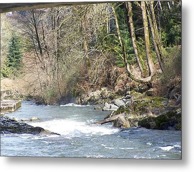 Its The Water And A Lot Lot More Metal Print by Laurie Kidd