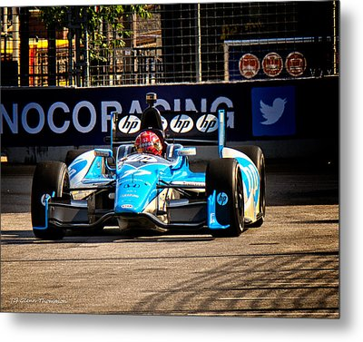Izodindy Car Metal Print by Glenn Thompson