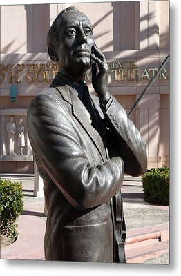 Jack Benny Metal Print by Jeff Lowe