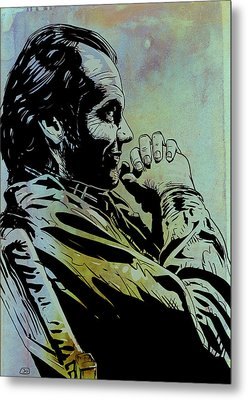Jack Nicholson Metal Print by Giuseppe Cristiano
