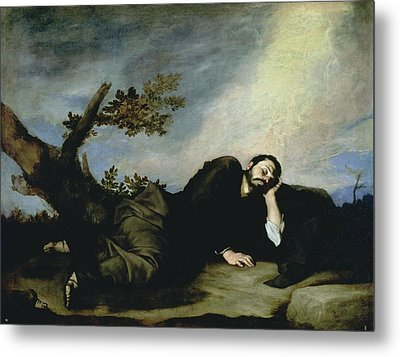 Jacobs Dream Metal Print by Jusepe de Ribera