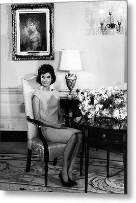 Jacqueline Kennedy, Circa. 1960s Metal Print by Everett