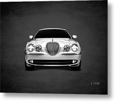 Jaguar S Type Metal Print by Mark Rogan