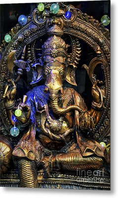 Jai Ganesh Metal Print by Tim Gainey