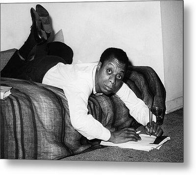 James Baldwin, 1963 Metal Print by Everett