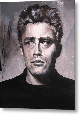 James Dean Two Metal Print by Eric Dee