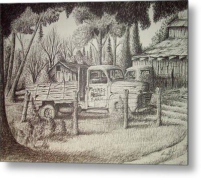 James Farm Metal Print by Chris Shepherd