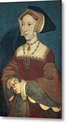 Jane Seymour Metal Print by Holbein