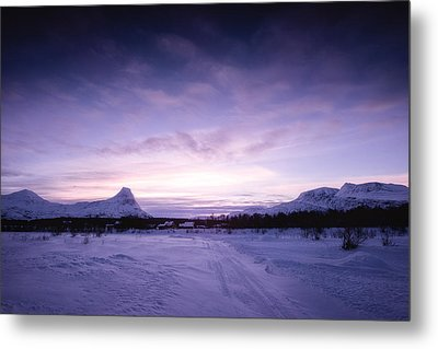 January Metal Print by Tor-Ivar Naess