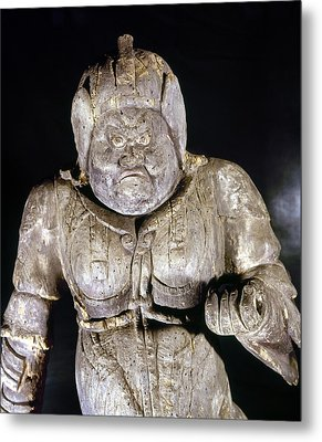 Japan: Buddhist Statue Metal Print by Granger