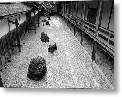 Japanese Zen Garden Metal Print by Sebastian Musial
