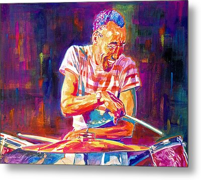 Jazz Beat Metal Print by David Lloyd Glover