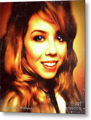 Jennette Mccurdy - Beautiful Metal Print by Robert Radmore