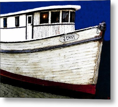 Jenny Metal Print by David Lee Thompson