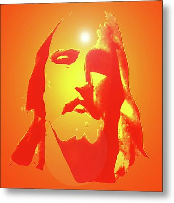 Jesus Christ No. 01 Metal Print by Ramon Labusch