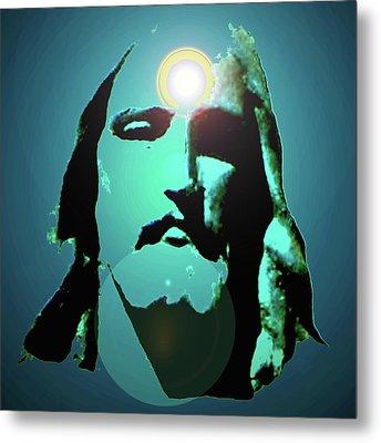 Jesus Christ No. 02 Metal Print by Ramon Labusch
