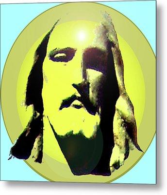 Jesus Christ No. 03 Metal Print by Ramon Labusch
