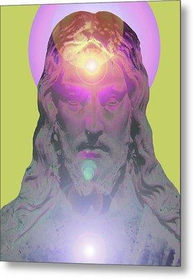 Jesus Portrait No. 03 Metal Print by Ramon Labusch