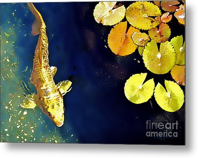 Jewel Of The Water Metal Print by Barb Pearson