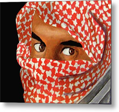 Jihadi Metal Print by Darren Stein