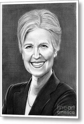 Jill Ellen Stein Metal Print by Murphy Elliott