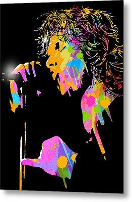 Jim Morrison Metal Print by Paul Sachtleben