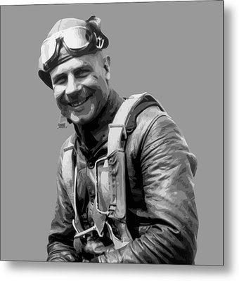 Jimmy Doolittle Metal Print by War Is Hell Store