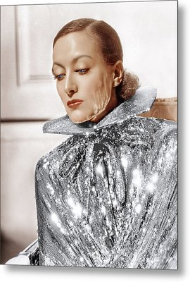 Joan Crawford, Photo By Hurrell, Ca Metal Print by Everett